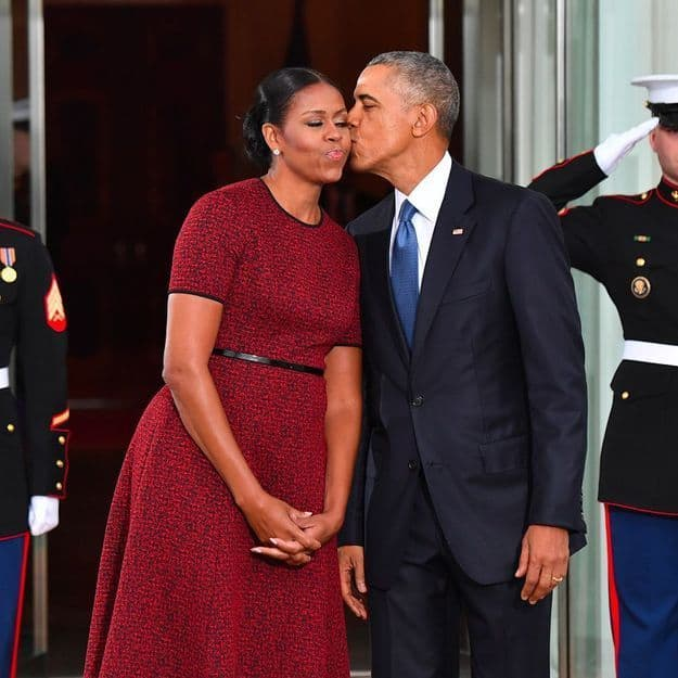Barack Et Michelle Obama 25 Ans De Mariage Et Une