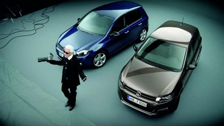 Karl Lagerfeld sur les voitures