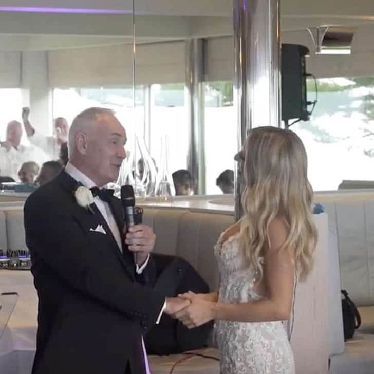 Dad Invites This Unexpected Guest to the Wedding of His
